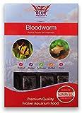 BCUK Frozen Fish Food Bloodworm Blister Pack 100g x5