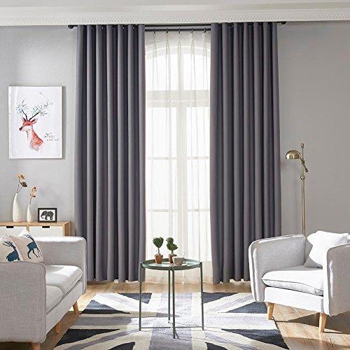 Gowind6 eenvoudige pure kleur huis verduisterende gordijn studie slaapkamer raam gordijnen gordijn