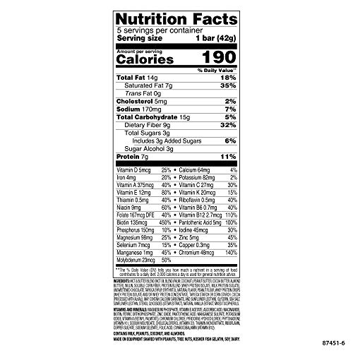 SlimFast Keto Meal Replacement Bar