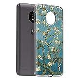 Zhuofan Plus Motorola Moto G5 Case, Clear Silicone Soft
