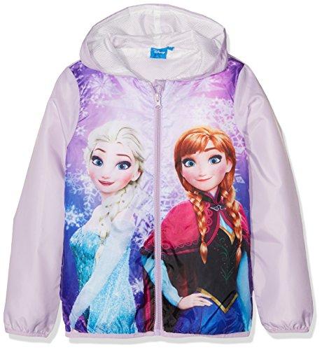 Disney Frozen Beautiful Frozen Abrigo, Morado (Violet 14-3612 TC), 3-4 Años (Tamaño...