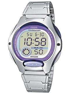 Casio Reloj Digital para Mujer de Cuarzo con Correa en Acero Inoxidable LW-200D-6AVEF (B0021AEDDC) | Amazon price tracker / tracking, Amazon price history charts, Amazon price watches, Amazon price drop alerts