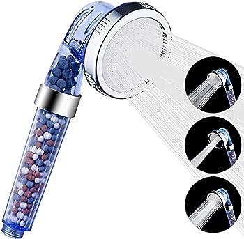 Luxsego 3 Settings High Pressure & Water Saving Showerhead
