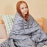 jaymag Gewichtsdecke für Kinder 3.2kg Therapiedecke Anti Stress Decke Schwere Decke für Angst und...