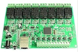 Lironheel01 8 Way IO 8 Channel Network Relay Web Relay Dual Control Ethernet TCP Modbus