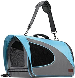 Friends Forever Airline Approved Pet Carrier for Cats, Small Dogs - Soft Cat Carriers Dog Travel Bag for Small Medium Large Cat