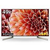 ソニー 49V型 液晶 テレビ ブラビア 4K Android TV機能搭載 Works with Alexa対応 KJ-49X9000F