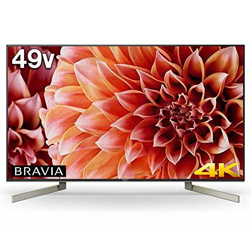 ソニー SONY 49V型 液晶 テレビ ブラビア 4K Android TV機能搭載 Works with Alexa対応 KJ-49X9000F