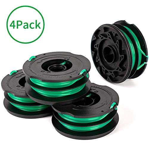 Mejor X Home 4-Pack Durable DF-080 Spools Compatible with Black Decker GH1000 GH1100 GH2000 Weed Eater, 0.080 inch Dia, 30FT Line crítica 2020