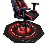 Homek Chair Mat for Hardwood Floor - 47' X 47' Office Computer Chair Mat for Hard Floor