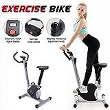SHDS Bicicleta estática de Interior Mini Bicicleta de Ejercicio para Oficina en casa con Resistencia a la Velocidad, Equipo para Bajar de Peso