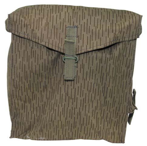 ORIG. NVA SCHUTZMASKENTASCHE Tasche strichtarn Militärtasche Armee Armytasche