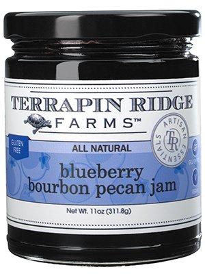 Blueberry Bourbon Pecan Jam by Terrapin Ridge Farms – One 11 oz Jar
