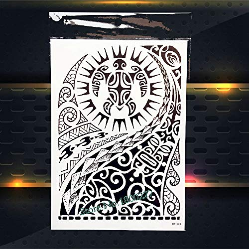 Zhuhuimin 5-delig/los Coole Chinese draak schets tattoo sticker coole mannen lichaam mouwen tattoo rug tattoo draak ontwerp