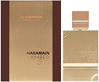 Al Haramain Perfumes Amber Oud Gold Edition EDP Spray paquete de 1