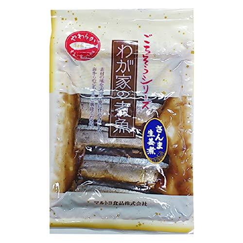 さんま生姜煮 4切れ×5P マルトヨ食品 三陸沖で獲れた旬のさんまを使用