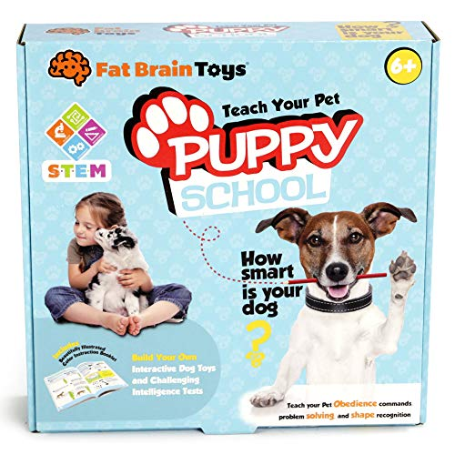 Fat Brain Toys Puppy School Science & Nature for Ages 6 to 11