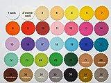10 Tischkarten Platzkarten Namenschilder Farbauswahl Taufe Kommunion Konfirmation - 2