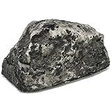 com-four® 1x Schlüsselstein Little Rock, Stein mit Geheimfach, Schlüsselversteck in Stein-Optik, Geocaching-Stein (1 Stück - klein)