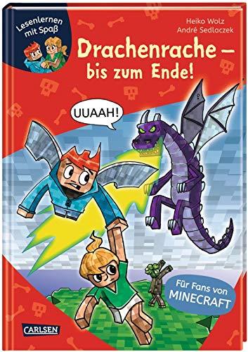 Lesenlernen mit Spaß – Minecraft 3: Drachenrache – bis zum Ende!: Erstleser-Abenteuer für Fans von Minecraft (3)