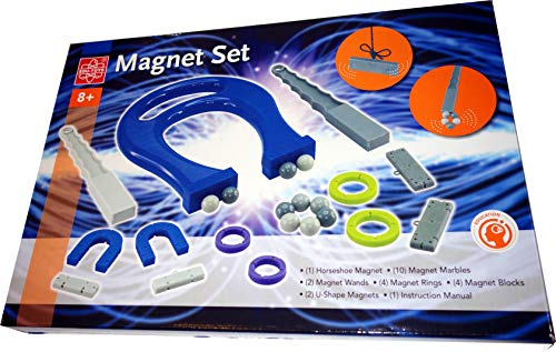 EDU-TOYS Magnet Set Experimente mit Magnetismus