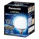 パナソニック LED電球 口金直径26mm 電球100形相当 昼光色相当(10.7W) 一般電球・ボール電球タイプ 95mm径 屋外器具対応 LDG11DG95W