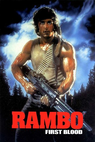 Pop Culture Graphics Rambo: First Blood Poster Movie (1982) Style G 11 x 17 Inches - 28cm x 44cm (Sylvester Stallone)(Richard Crenna)(Brian Dennehy)(Jack Starrett)(David Caruso)