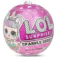 L.O.L. Surprise!- Sparkle Series con Acabado de Purpurina Y 7 Sorpresas, Multicolor, única (MGA Entertainment UK LTD 560296)
