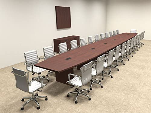 Modern Boat Free shipping shipfree on posting reviews Shaped 28' Table Conference OF-CON-C102 Feet