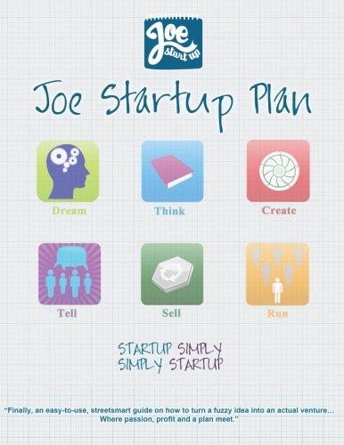 Joe Startup Plan: Startup Simply. Simply Startup.