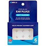 Rite Aid Silicone Ear Plugs - 6 Pair   Moldable Ear Plugs for Swimming, Sleeping, Travel, and Concerts   Prevents Swimmer's Ear