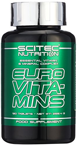 Scitec Nutrition Vitamin Euro Vita-Mins, 120 Tabletten, 1er Pack (1 x 255,4g)
