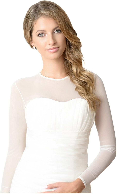 Sheer Mesh Bodysuit wedding dress Bridal Cover up