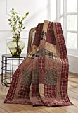 Olivia's Heartland Rutherford Quilted Throw