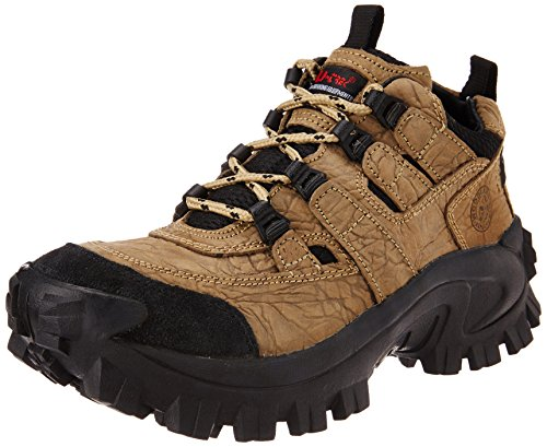 Woodland Men's Khaki Leather Casual Shoes-(7UK) (41 EU) (G 40777Y15)