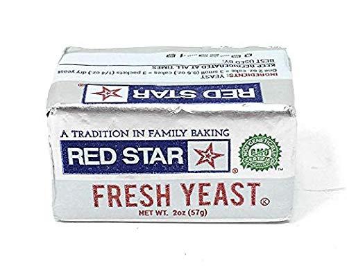 Red Star Fresh Yeast Cake, 2 oz (6 Pack)