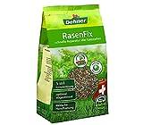 Dehner Rasenfix zur Rasenreparatur, 5 in 1 Komplettlösung, 1.5 kg, für ca. 10 qm
