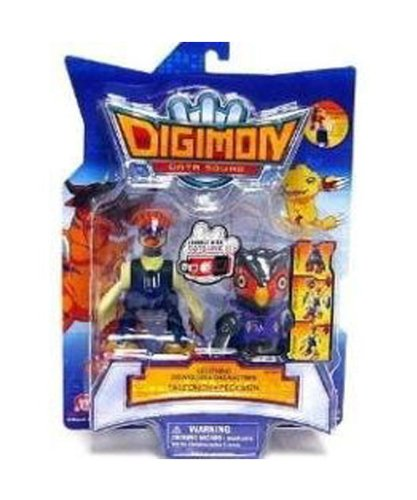 Bandai Digimon Digital Monsters- 3.5' Lightning Digivolving Figures- Falcomon- Pekkumon