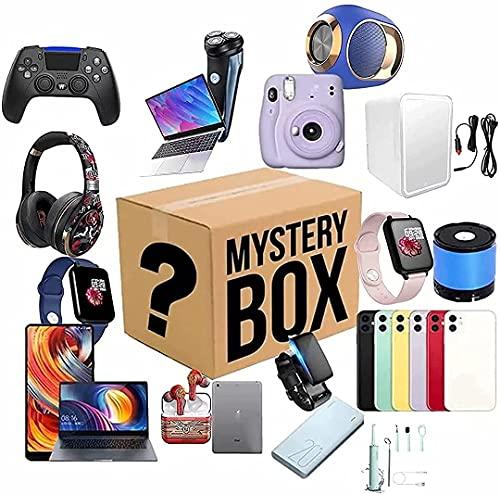 nakw88 Caja misteriosa Mystery Box Lucky Boxes Misteriosos Productos aleatorios Hay la Oportunidad de Abrir,como Drones Smart Watches Gamepads cámaras Digitales y más posibles