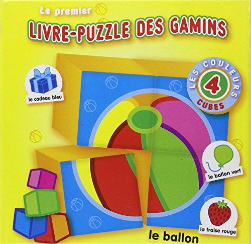 puzzle yo yo First Puzzle Block Book FR: colors