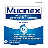 Mucinex Extended Release Bi-Layer Tablets (600 Mg Guaifenesin) 6 ea (Pack of 7)