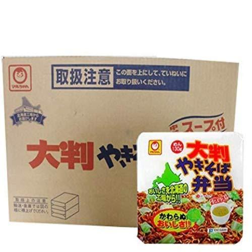 マルちゃん カップ麺 焼きそば 即席カップめん 東洋水産 大判 やきそば弁当 (スープ付) 12食入 1ケース ×3箱 北海道限定 カップ やきそば やきべん