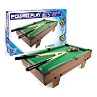 Power Play Table Top Pool Game, 25 Inch