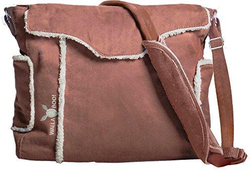 Wallaboo - Borsa fasciatoio Nore + coperta fasciatoio + sacco per la biancheria + portabiberon