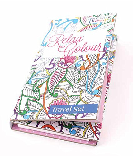 Colour therapy Travel Colouring K