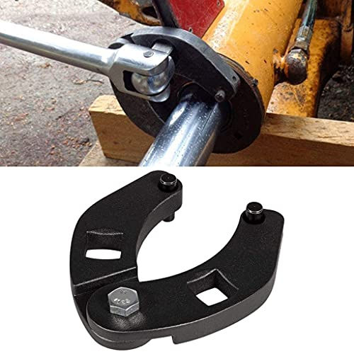 Gland Nut Wrench, Adjustable 7436 Spanner Repair Tool for Hydraulic Cylinders