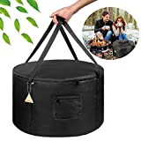 Carrying Bag for Outland Firebowl 823 Outdoor Portable Propane Fire Pit Carrying Bag for Firebowl 870 Water-Resistant 19 Inch Gas Fire Pit Carry Bag for Outland Fire Bowl 893