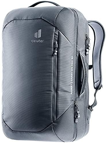 Deuter AViANT Carry On PRO 36, Zaino da Viaggio Unisex-Adult, Black, 36 L