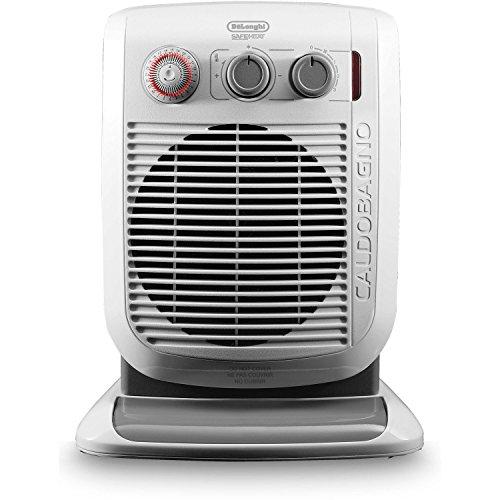 DeLonghi America HVF3555TB Bathroom Safe Fan Heater