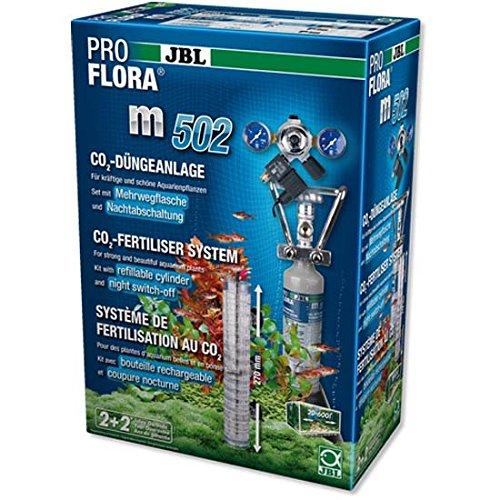 JBL - ProFlora m502 Pflanzendüngeanlage (Mehrweg) mit Nachtabschaltung Süßwasser-Aquarien bis 600 l (max.120 cm)